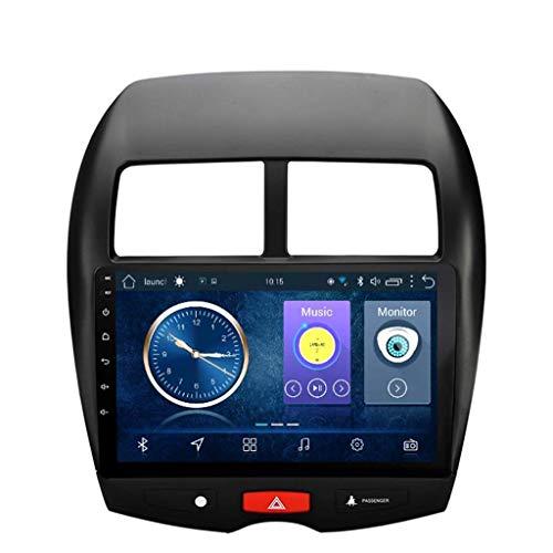 Android 8.1 Car GPS Navigation Radio TV, 9 Zoll Full Touch Screen Bildschirm Autoradio, für Mitsubishi ASX 2013-2015, mit Lenkradkontrolle Bluetooth Mirror Link Stereo SD USB FM AM,4G+WIFI:2+32G