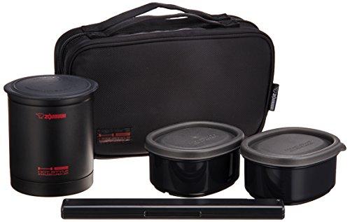 Zojirushi Thermal Lunch Box BENTO BAKO | SZ-KA02-BE Black (Japan Import)