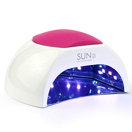 48 W Sèche-Linge De Kit Ongles UV Lampe De Lumière LED Avec Minuteur, Capteur Pour Séchage Des Ongles Kit Ongles Orteils Blanche Lampe Polymériser Nail Art