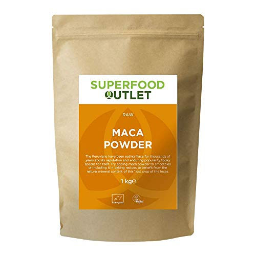 Raw Maca Pulver | 1KG | Superfood Outlet