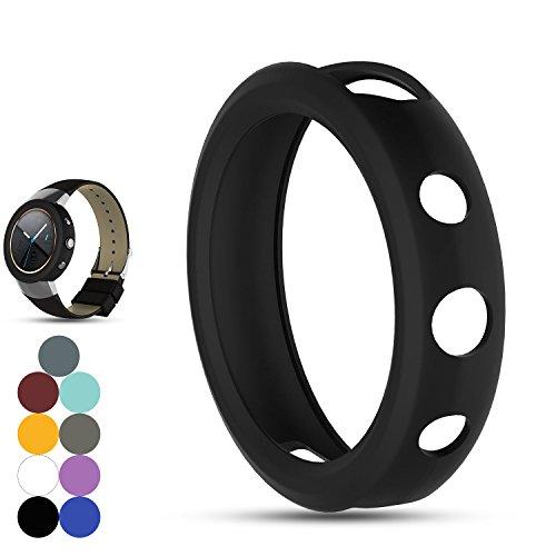 Zenwatch 3 Ersatz Band Cover Schutzhülle, iFeeker weichem Silikon Stoßfest und bruchsicher Sleeve Sleeve Cover Schutzhülle Tasche für ASUS ZENWATCH 3 Smart Fitness Watch