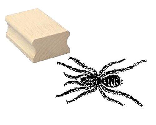 Stempel houten stempel motiefstempel « spin » scrapbooking - embossing kinderstempel dierstempel terrarium dierpark