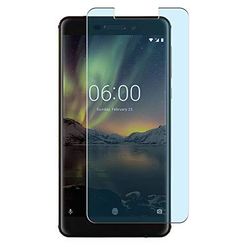 Vaxson 4 Unidades Protector de Pantalla Anti Luz Azul, compatible con Nokia 6 II 2018 NOKIA 6.1 [No Vidrio Templado] TPU Película Protectora