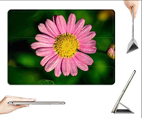 Case for iPad Pro 12.9 inch 2020 & 2018 - Leucanthemum Pink-Margerite Flower Basket
