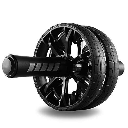 Fitness Ab Roller for Abs Workout,Ab Roller Wheel Exercise Equipment,Ab Wheel Exercise Equipment,Ab Wheel Roller for Home Gym,Ab Machine for Ab Workout,Double Wheel Ab Roller with Knee pad