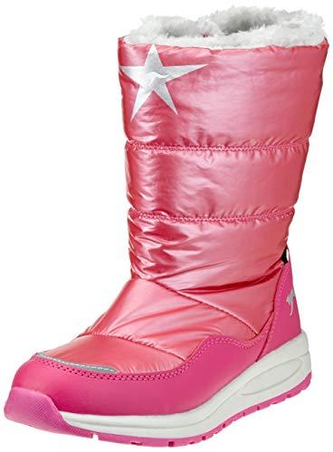 KangaROOS K-Confi RTX, Botas para Nieve Unisex niños, Rojo Daisy Pink, 30 EU