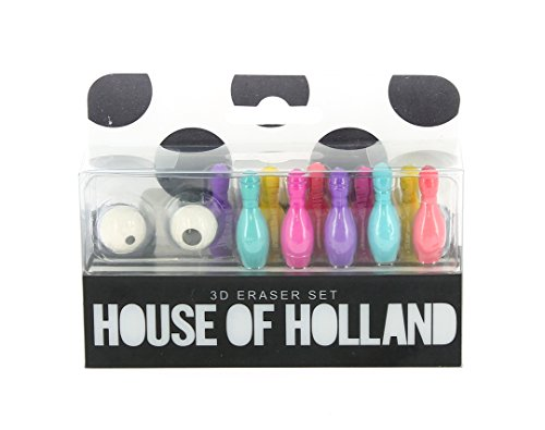 House of Holland 3D-Radiergummi-Set
