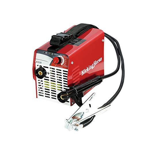KICKINGHORSE A220 UL-Certified ARC Welder 240V.High Power High Rating 220A 40K Hz IGBT Welding Inverter Optimized for Generator/Extension Cord.Ideal for Jobs Where High Reliability&Durability Required