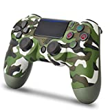 Wireless Controller for PS4 - AUGEX Remote for Playstation 4 Control (Green Camouflage)