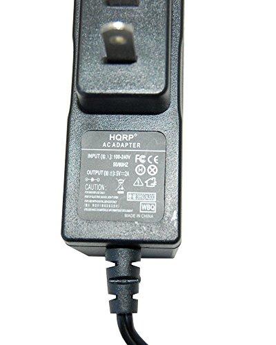 HQRP AC Netzadapter / Ladegerät für Curtis Proscan PLT 7033D / PLT7033D, PLT 8031 / PLT8031 Tablette PC + HQRP Euro Stecker Adapter