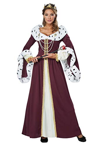 California Costumes Women's Royal Storybook Queen Costume, multi, Medium