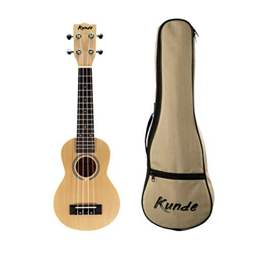 """Ukelele Kunde Mercury 21"""" Soprano - NEW EDITION 2020. Diseñado en Barcelona. Incluye Funda Kunde 5mm. Fabricado con madera de Tilo de alta calidad. (Vainilla Beix)"""