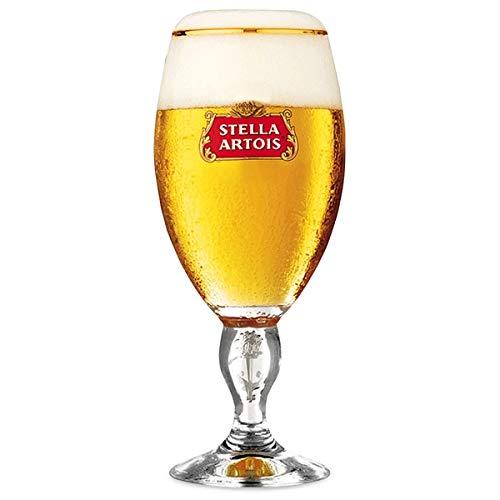 SP Stella Artois calice bicchieri da birra | marcati CE | nucleati (2,5 oz/570 ml)