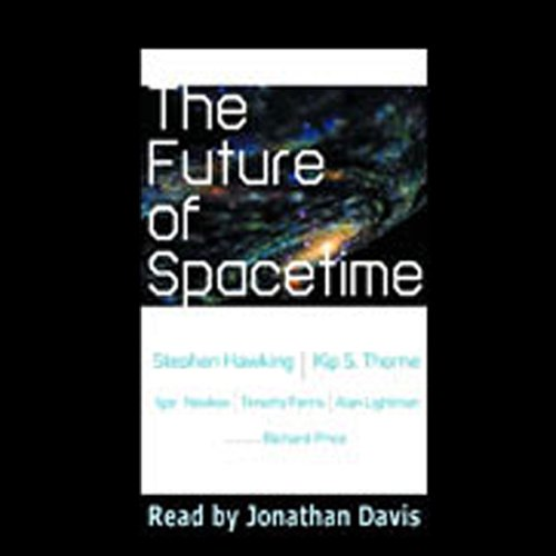 The Future of Spacetime audiobook cover art
