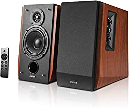 Edifier R1700BTs Active Bluetooth Bookshelf Speakers - 2.0 Wireless Near Field Studio Monitor Speaker - 66w RMS with Subwoofer Line Out