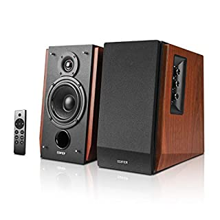 Edifier【Upgraded】 R1700BTs Active Bluetooth Bookshelf Speakers - 2.0 Wireless Near Field Studio Monitor Speaker - 66w RMS with Subwoofer Line Out - Wooden Enclosure (B087CNW9LS) | Amazon price tracker / tracking, Amazon price history charts, Amazon price watches, Amazon price drop alerts