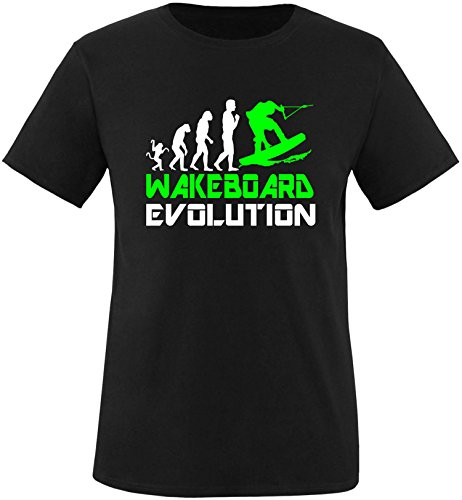 EZYshirt® Wakeboard Evolution Kinder T-Shirt