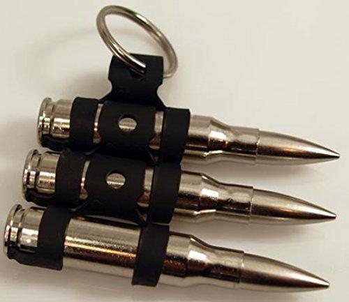Schlüsselanhänger mit 3 M60 Patronen, MG-Patronengurt