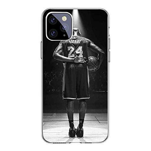 XMYP Kobe James Jordan - Funda protectora completa para iPhone 12/12 Pro, 12 Mini, 12 Pro Max, a prueba de golpes, antideslizante, TPU suave Shell C-12 Pro Max