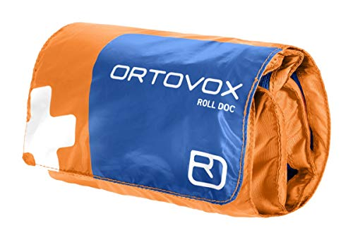 ORTOVOX Unisex– Erwachsene Roll Doc Erste-Hilfe-Set, Shocking Orange, 15 x 10 x 6 cm
