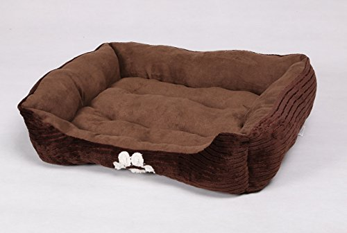 Long Rich Reversible Rectangle Pet Bed Dog Bed