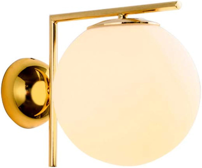 Moderne Runde Sphrische Wandleuchte Gang Lichter Nordic Einfache Persnlichkeit Wohnzimmer Auge Wandleuchte Mode Schlafzimmer LED Lampen