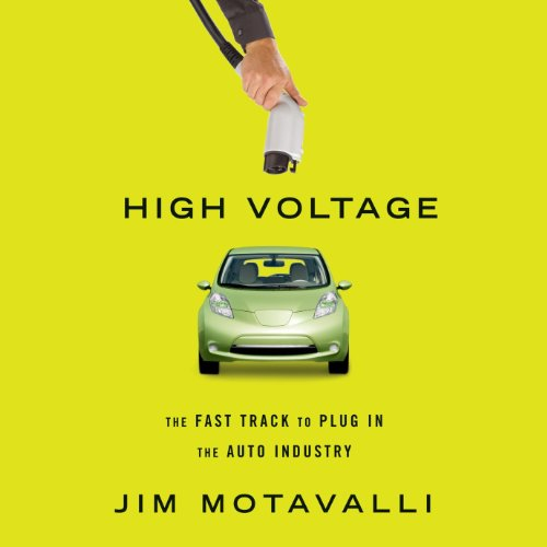 High Voltage audiobook cover art
