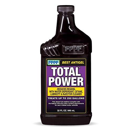 FPPF 00343 Total Power AntiGel Winter Diesel Fuel Injector Treatment Cleaner