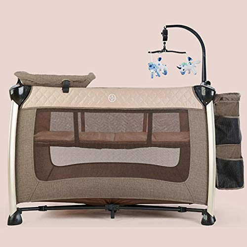 Buy Discount Xinjin Travel Crib - Backpack Portable, Lightweight, Easy to Pack Play-Yard with Comfor...