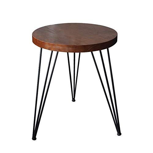 MNBV Pine Tisch Beistelltisch Nachttisch mit 3 runden Haarnadelbeinen für Wohnzimmer und Schlafzimmer, 29,5'groß...