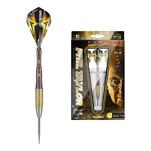 Target Darts, Dartpfeile - Phil Taylor Power 9Five, 4. Generation, Stahlspitze, 200910, 26 g