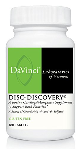 Davinci Laboratories Disc Discovery Tablets, 180 Count