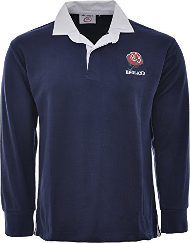 England English Retro Rugby Shirts Erwachsene S M L XL XXL 3X L 4X L 5X L Full Sleeve Exklusive, Englnd Rugby Shirts, RUGBY SHIRTS