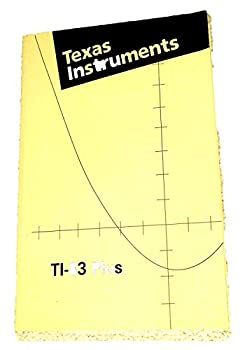 TI-83 Plus instruction Manual (Texas Instruments Graphing Calculator TI83 plus MANUAL) 0130669199 Book Cover