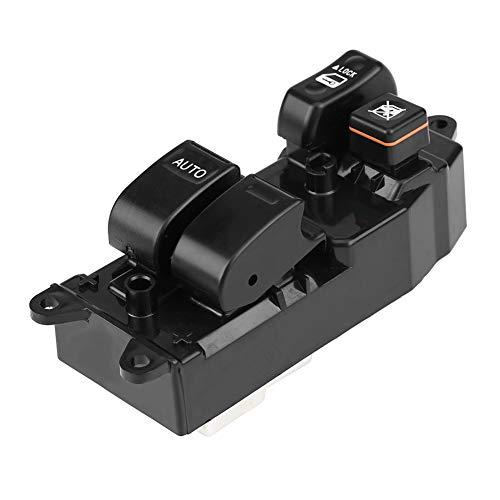 KIMISS Interruptor elevalunas eléctrico para automóvil,Interruptor de la ventana principal de energía para 84820-10100(Lado izquierdo del conductor)