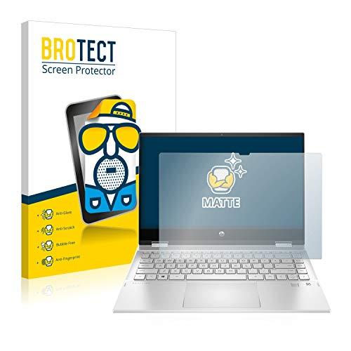 BROTECT Entspiegelungs-Schutzfolie kompatibel mit HP x360 14-dw1210ng Bildschirmschutz-Folie Matt, Anti-Reflex, Anti-Fingerprint