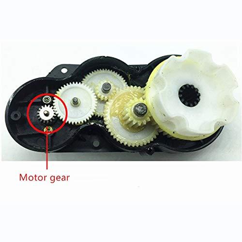 TOOGOO 570 Kinder Elektro Auto Schnelle Geschwindigkeit Getriebe Motor 12 V 27000 U / Min Motor mit Getriebe Kinder Fahrrad SUV Kinderwagen Teile