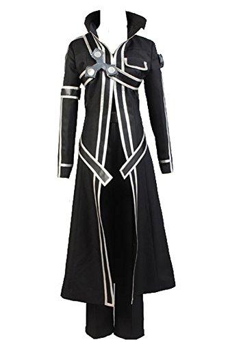 Disfraz de Kirito o Kazuto Kirigaya de la serie de anime Sword Art Online, del mundo de ALfheim