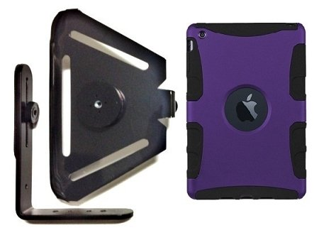 SlipGrip Tripod Mount for Apple iPad Mini Using Seidio Active case