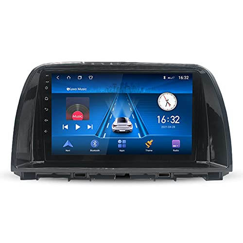 9 'Android 10.0 2 Din Radio De Navegación Para Mazda CX5 CX-5 CX 5 2012-2015 Soporte Bluetooth USB WIFI Pantalla Táctil Reproductor De Video Multimedia Navegación GPS Autoradio(Color:WiFi 2G+32G)