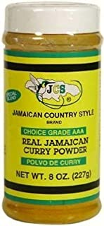 Real Jamaican Curry Powder, 8oz