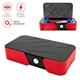 Bevoo UV Cell Phone Sanitizer Portable Multi-Function Smart Phone Cleaner Box Disinfection with Wireless Charger Disinfector for All iPhone Android Phones
