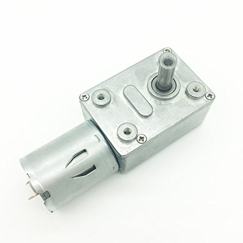 Bringsmart 小型 dcモーター 電動機 12v 160rpm, ギヤード モーター トルク高 0.55KG.CM, 直流 ギアボックスモーター 軸 直径6mm DIYバーベキューショー回転テーブルステージ照明自動販売機自動カーテンロボット自動装置