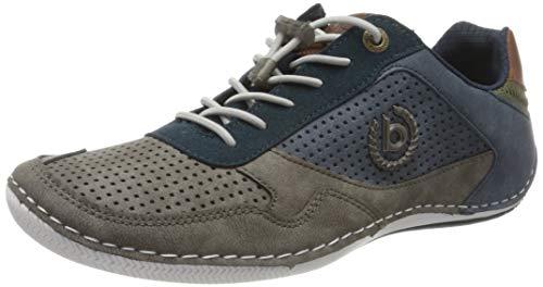 bugatti Herren Canario Sneaker, Grau, 48 EU