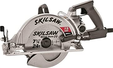 3M SPT77W-22 Worm Drive Heavy Duty Corded Circular Saw, 7-1/4