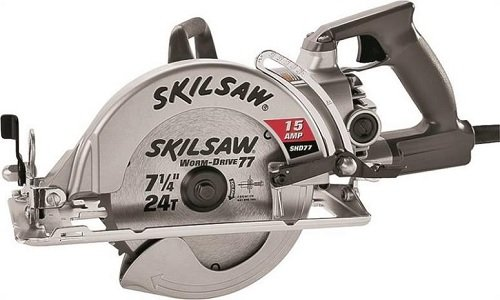 "3M SPT77W-22 Worm Drive Heavy Duty Corded Circular Saw, 7-1/4"","