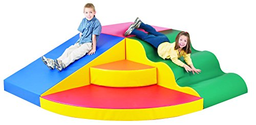 Review Of Children's Factory School Age Corner Colossus, Kids Climbing/Jumping/Sliding Indoor Play E...