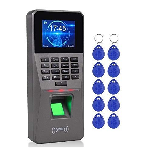 Unbekannt Präzise Fingerabdruck-Zeit-Anwesenheits-Maschine TCP/IP-Mitarbeiter Check-in-Zeit-Taktgeber-Recorder Biometric Access Controller USB Dauerhaft