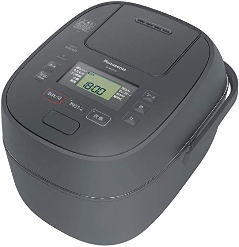 パナソニック 炊飯器 1升 可変圧力IH式 おどり炊き グレー SR-MPB180-H