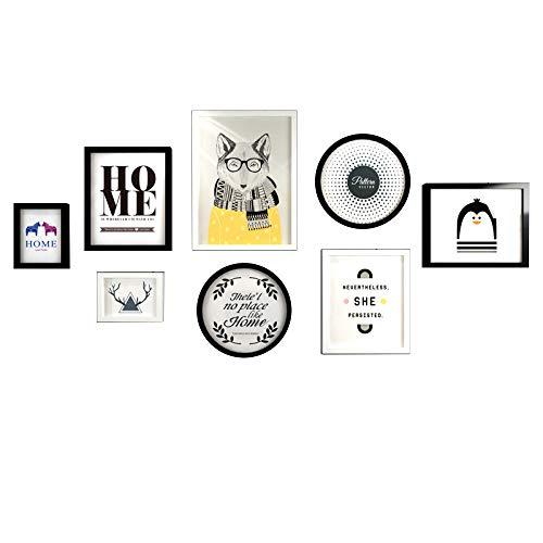 MYF HOME Wanddekoration-Bilderrahmenkombinations-Stangen-Wanddekorationen des Modernen Unbedeutenden Wohnzimmers Dekorative Malereikorridorwandwand